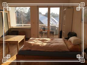 VORHER-NACHHER kleine Aufräumgeschichte eines Schlafzimmers