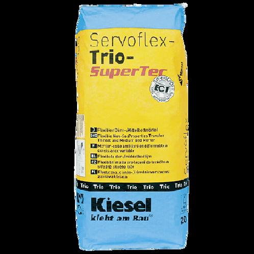 Kiesel SERVOFLEX TRIO SUPERTEC, 20kg-grau