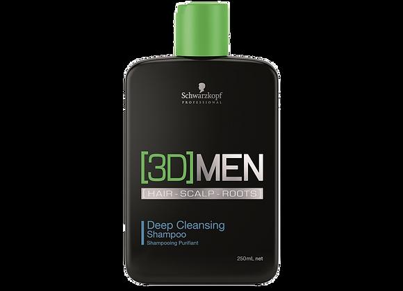 [3D]MEN DEEP CLEANSING SHAMPOO, 250ml