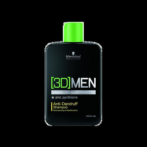 [3D]MEN Anti-Dandruff Shampoo, 250ml