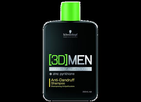 [3D]MEN ANTI DANDRUFF SHAMPOO, 250ml