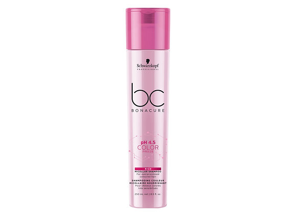 BC ph 4.5 Color Freeze Rich Micellar Shampoo, 250ml