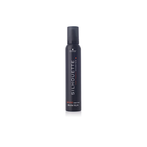 SILHOUETTE SUPER HOLD MOUSSE, 200ml