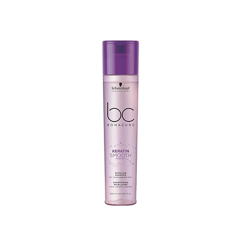 BC Keratin Smooth Perfect Micellar Shampoo, 250ml