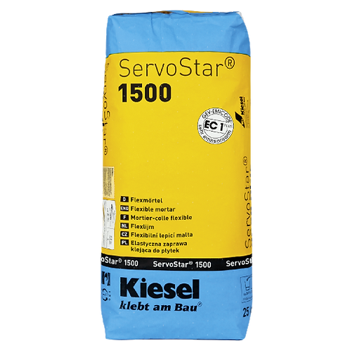 Kiesel SERVOSTAR 1500 (Flexkleber), 25kg