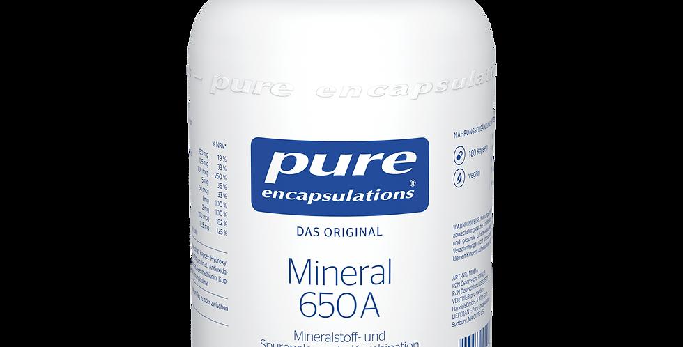 Mineral 650A  Минералы 650А