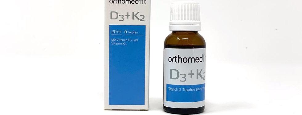 Orthomed Fit D3+K2 Tropfen
