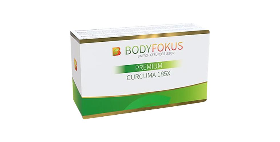 BodyFokus Premium Curcuma 185 X