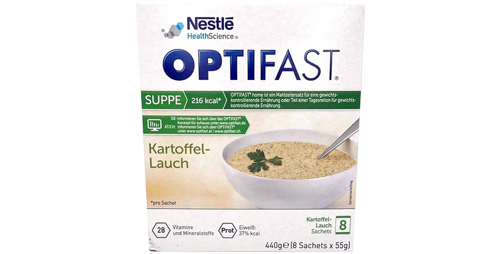 Optifast Kartoffel-Lauch Suppe