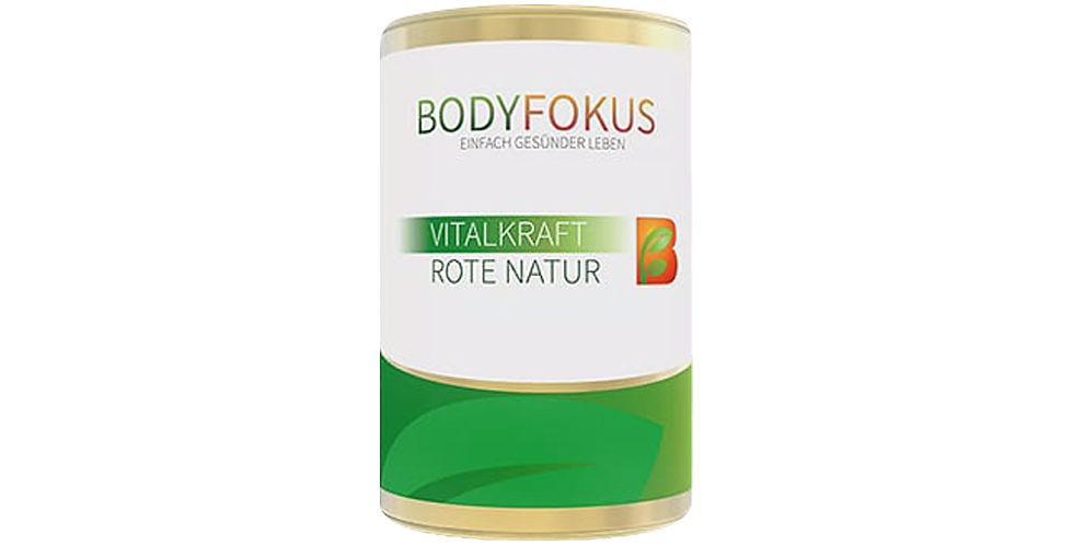 BodyFokus VitalKraft Rote Natur