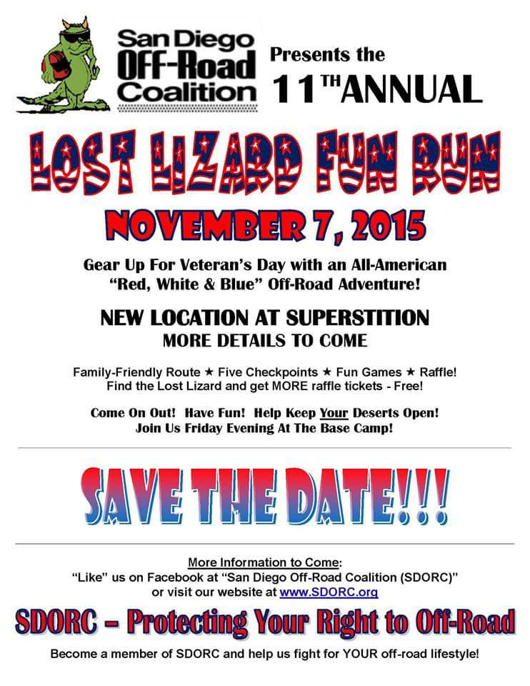Lost Lizard Run event