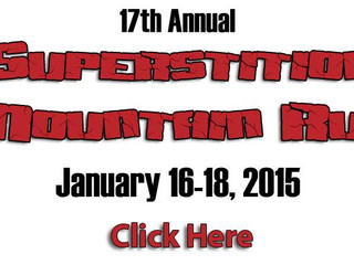 17th Annual Superstition Run