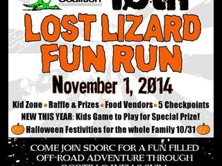 10th Annual Lost Lizard Run