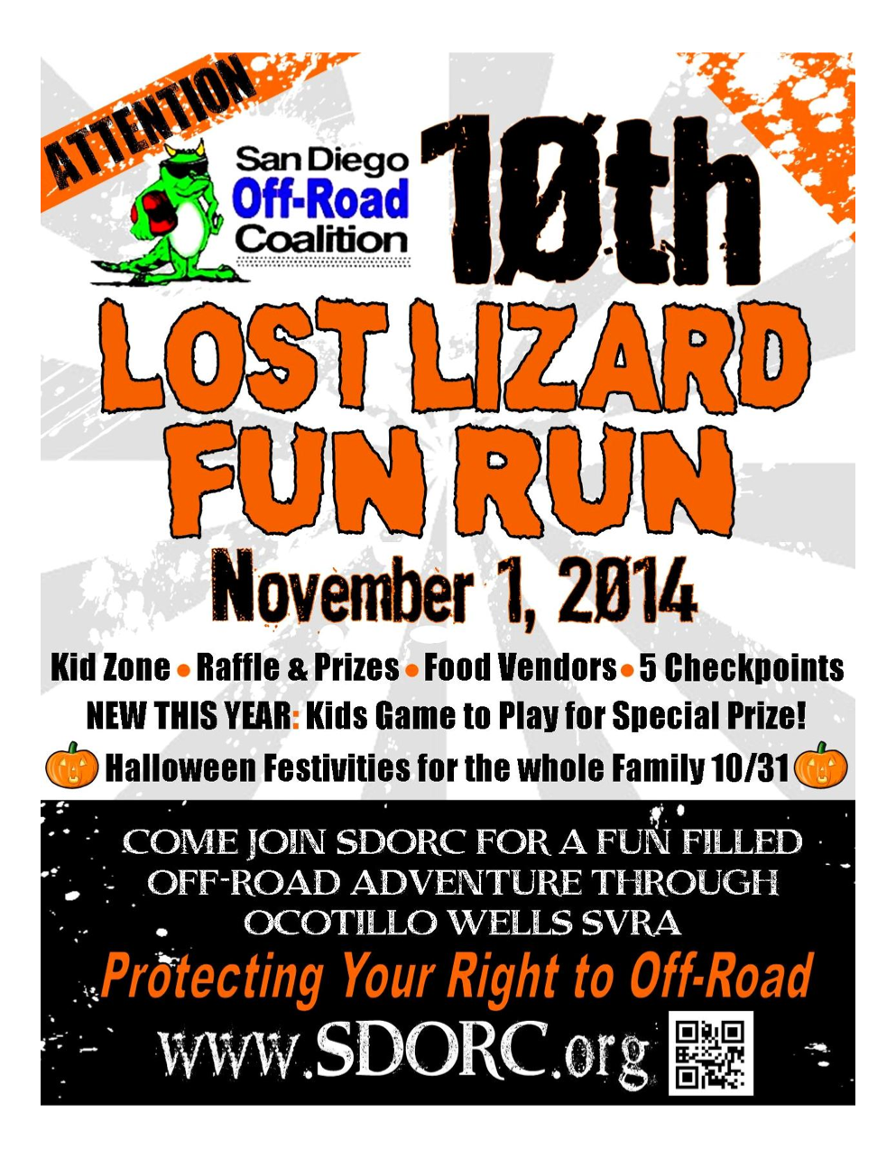 Competitive Metals will be attending the Lost Lizard Run