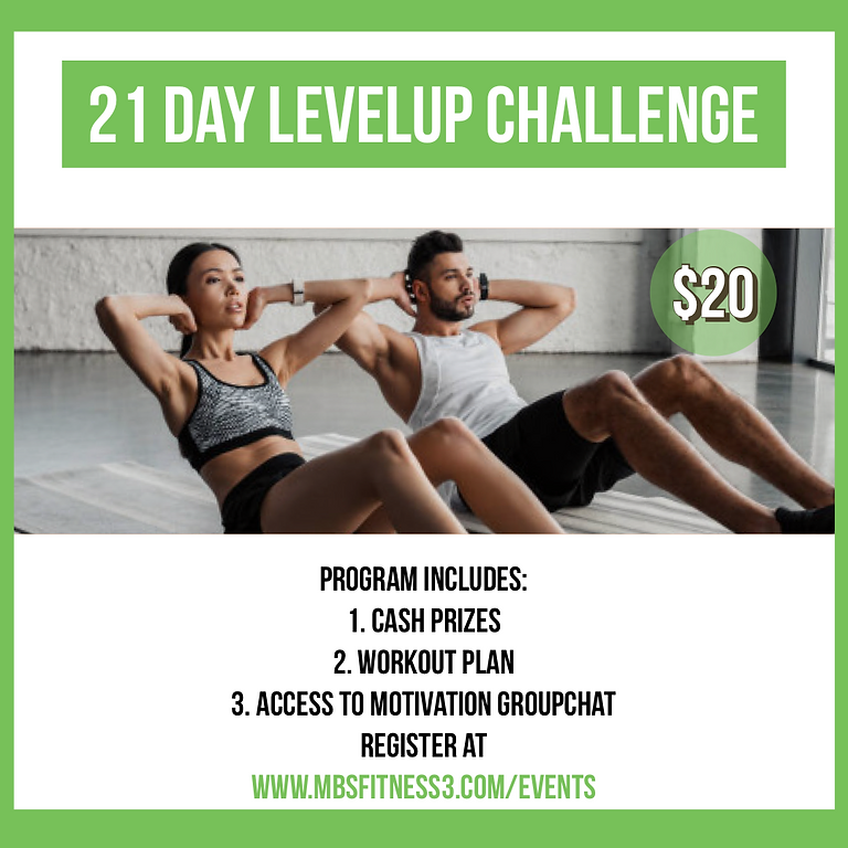 21 Day LevelUp Challenge