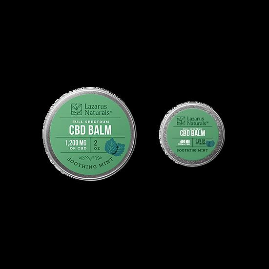 Soothing Mint Full Spectrum CBD Balm - 400mg