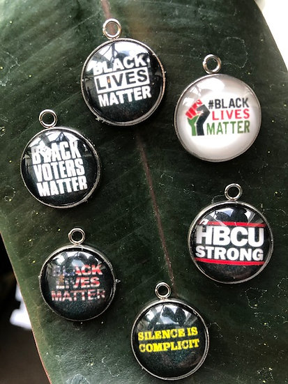 """Interchangeable Charms for """"Black Lives"""" Collection"""