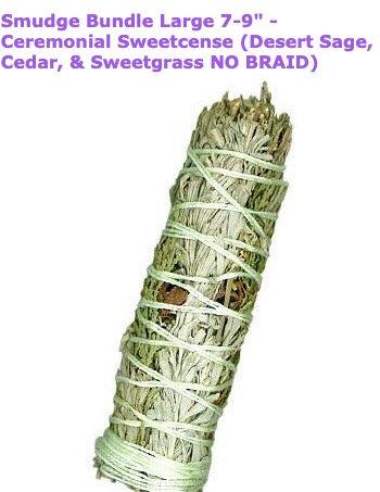 Desert Sage/Cedar/Sweet Grass Smudge Stick