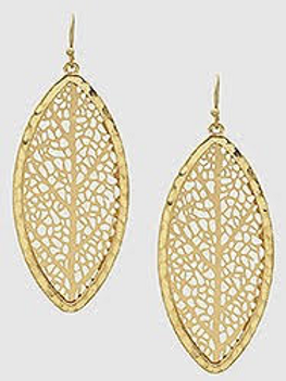 Single Leaf Earrings