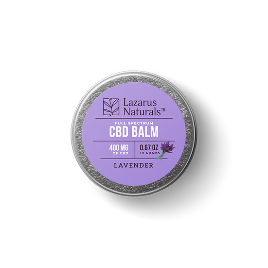Lavender Full Spectrum CBD Balm - 400mg