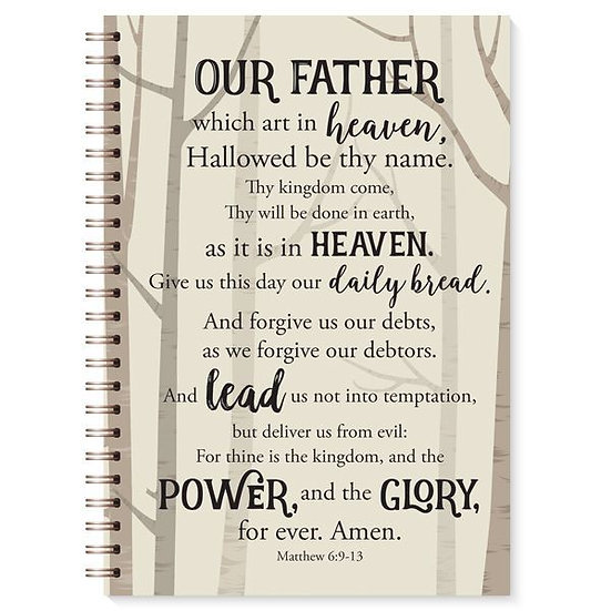 The Lord's Prayer Journal