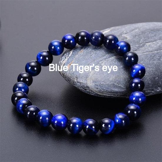 10MM Blue Tiger's Eye