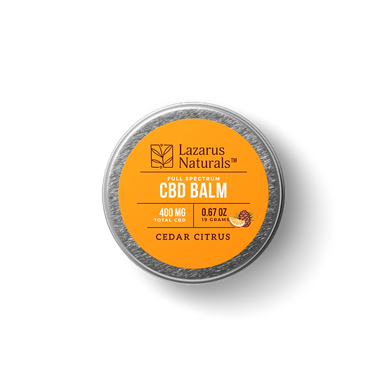 Cedar Citrus Full Spectrum CBD Balm - 400mg