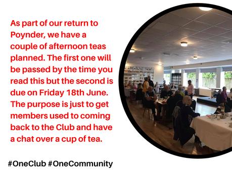 Club Update- June 2021