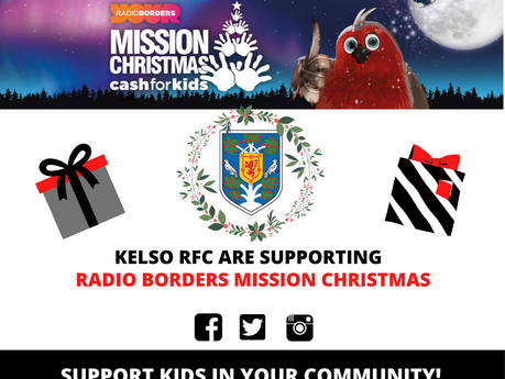 Radio Borders Cash for Kids- Mission Christmas