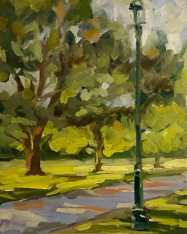 #art #pleinair #oilpainting _Oil on canv