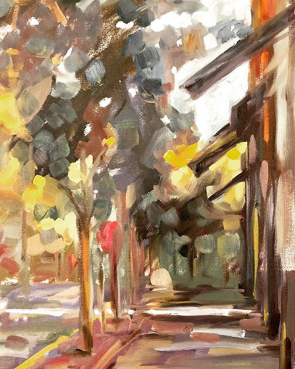 #art #oilpainting #pleinair _Oil on canv