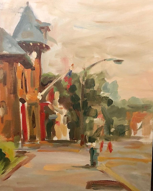#art #oilpainting #pleinair _18X24 inche