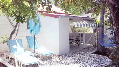 Hôtel chambre soleil Caraïbes Marie Galante