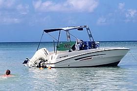 location de bateau à moteur à marie-galante