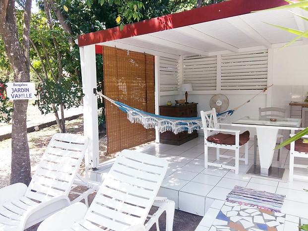 Bungalow Jardin Vanille à La Rose du Brésil Hôtel Marie-Galante