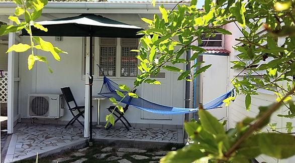 Chambre Café Duo à la rose du brésil hôtel marie-galante