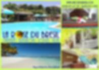Carte postale La Rose du Brésil Hôtel Marie-Galante