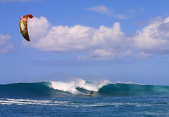 kite surf à marie-galante