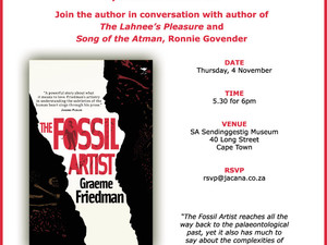 Book Launch! - The Fossil Artist