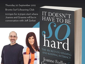 Book Launch! - It Doesn't Have To Be So Hard