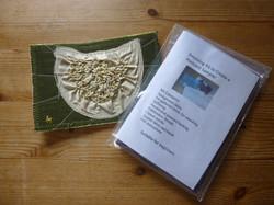 Smocked postcard and kit