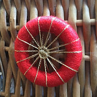Dorset cross wheel Christmas decoration