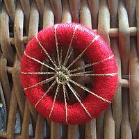 Dorset cross wheel Christmas decoration