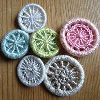Selection of Dorset cross whee buttons