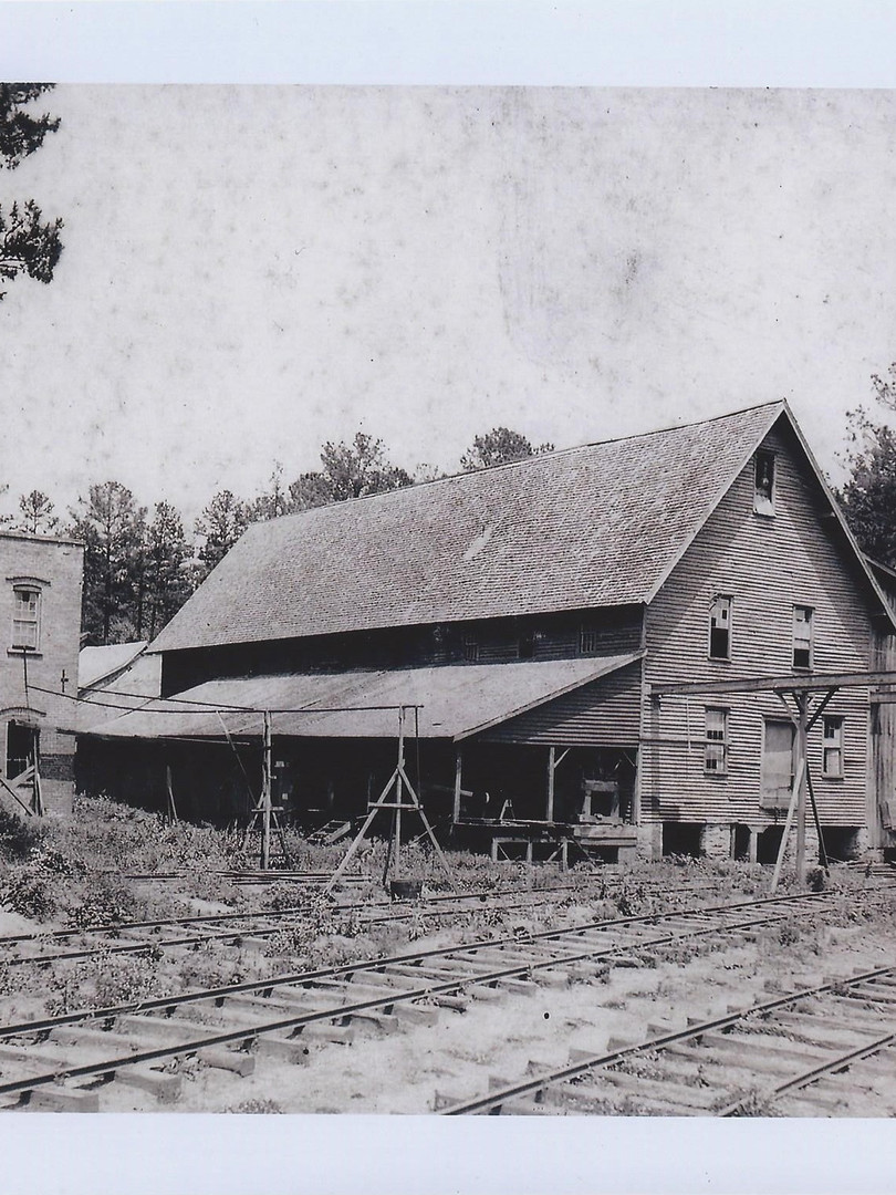 Railroad and Commissary