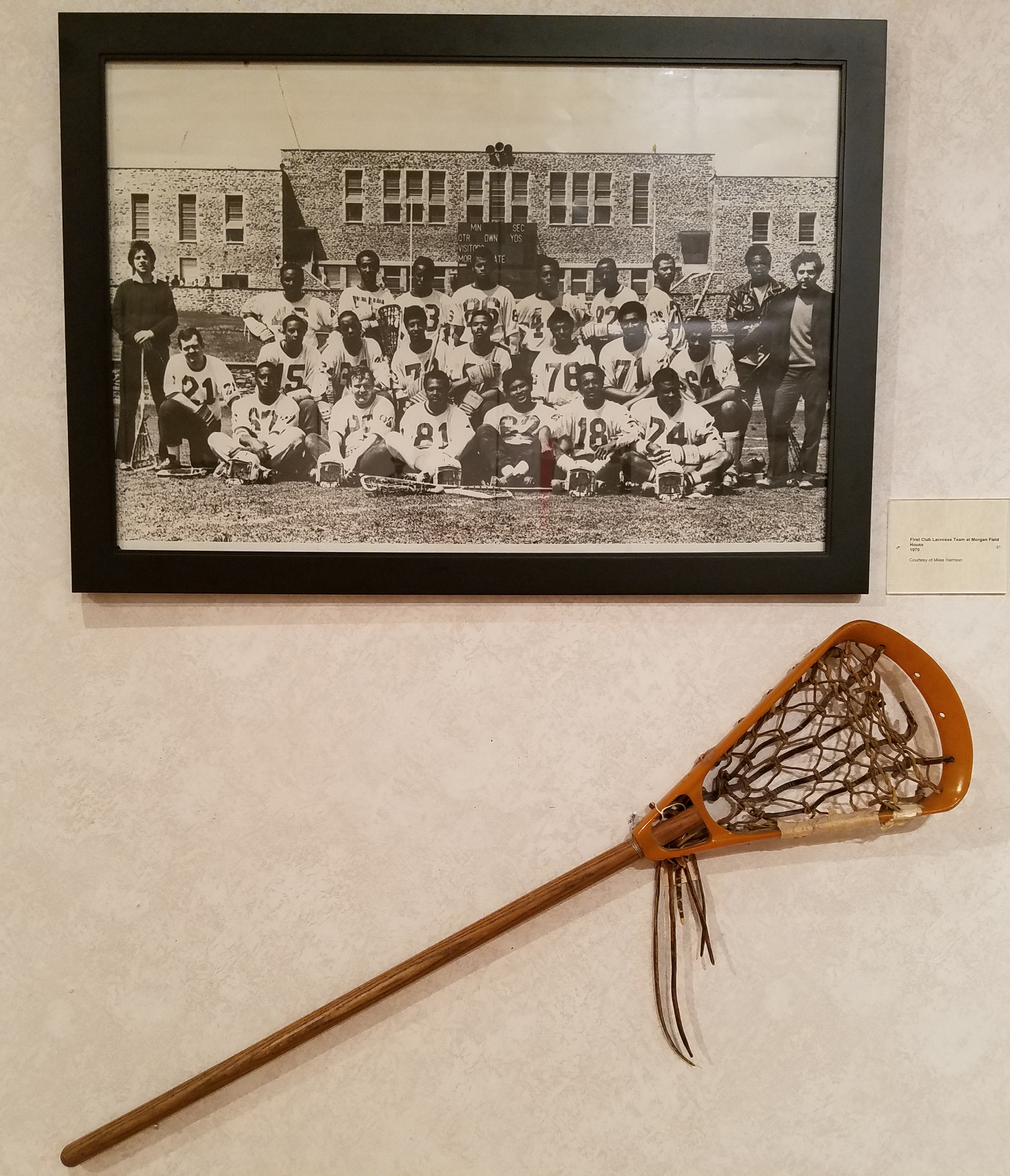 First Club Lacrosse Team
