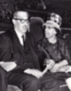45-b_w photo of LMJ - right Thurgood Mar