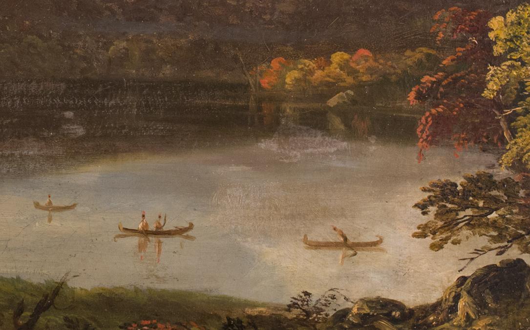 Cole - Catskill Lake Detail