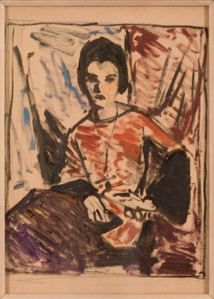 81.1.1 ARR Henri - Portrait of a Woman