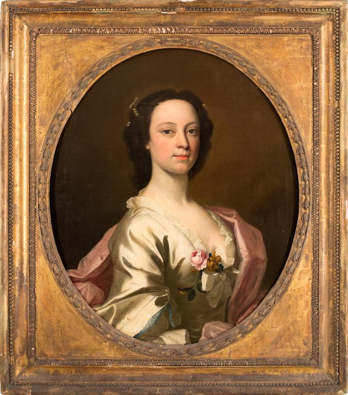 Allan Ramsay - Portrait of Flora Mac